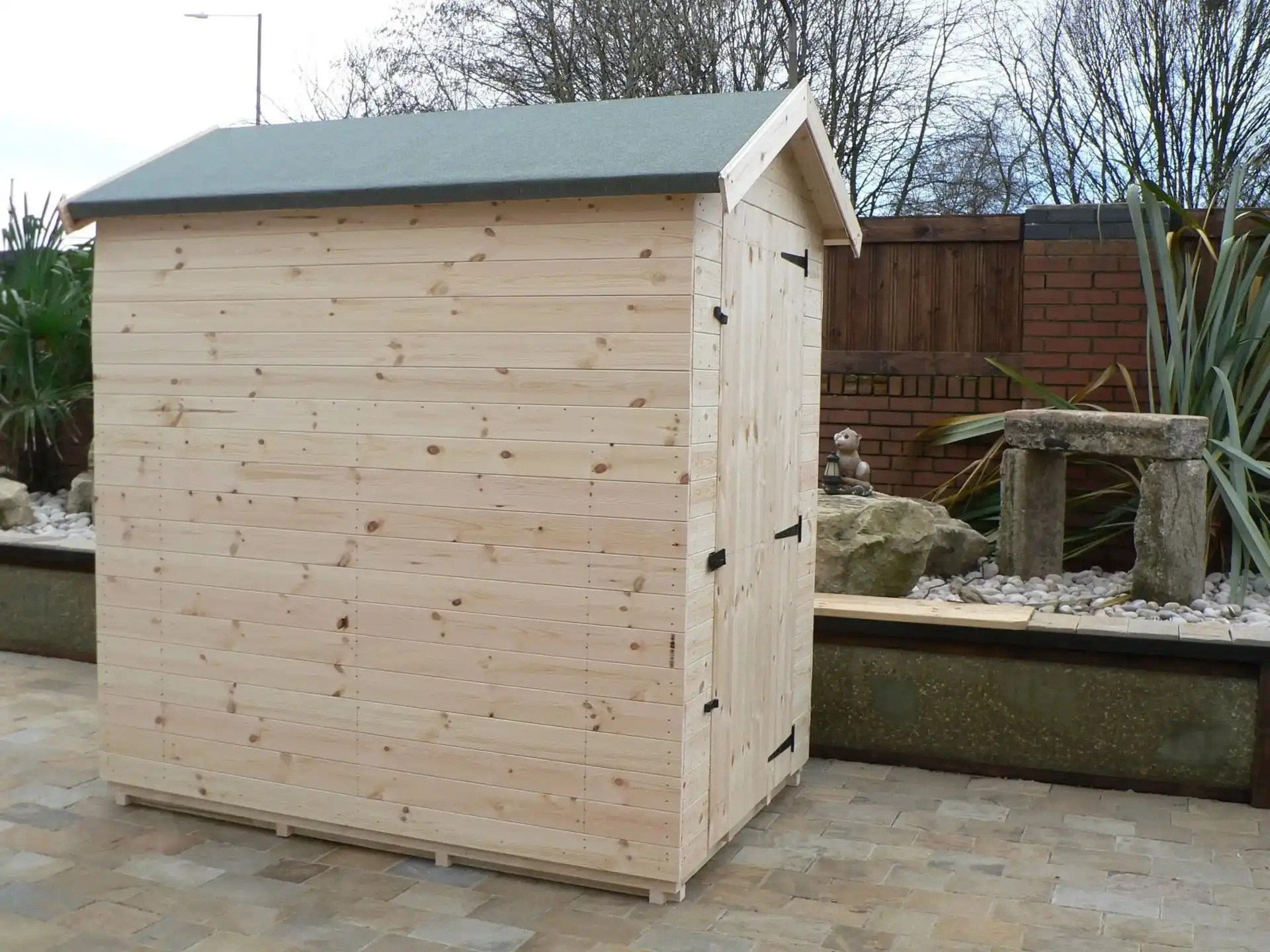 6′ X 4′ Apex Shed No Windows