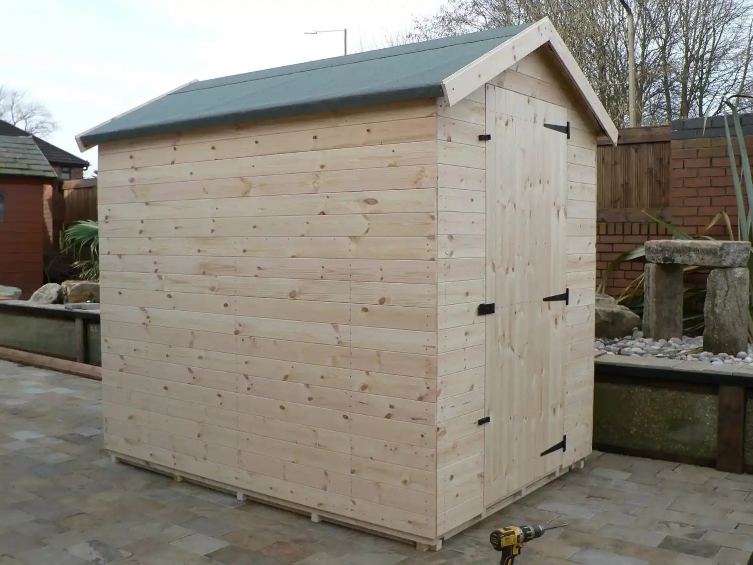 7' X 5' Apex Shed No Windows