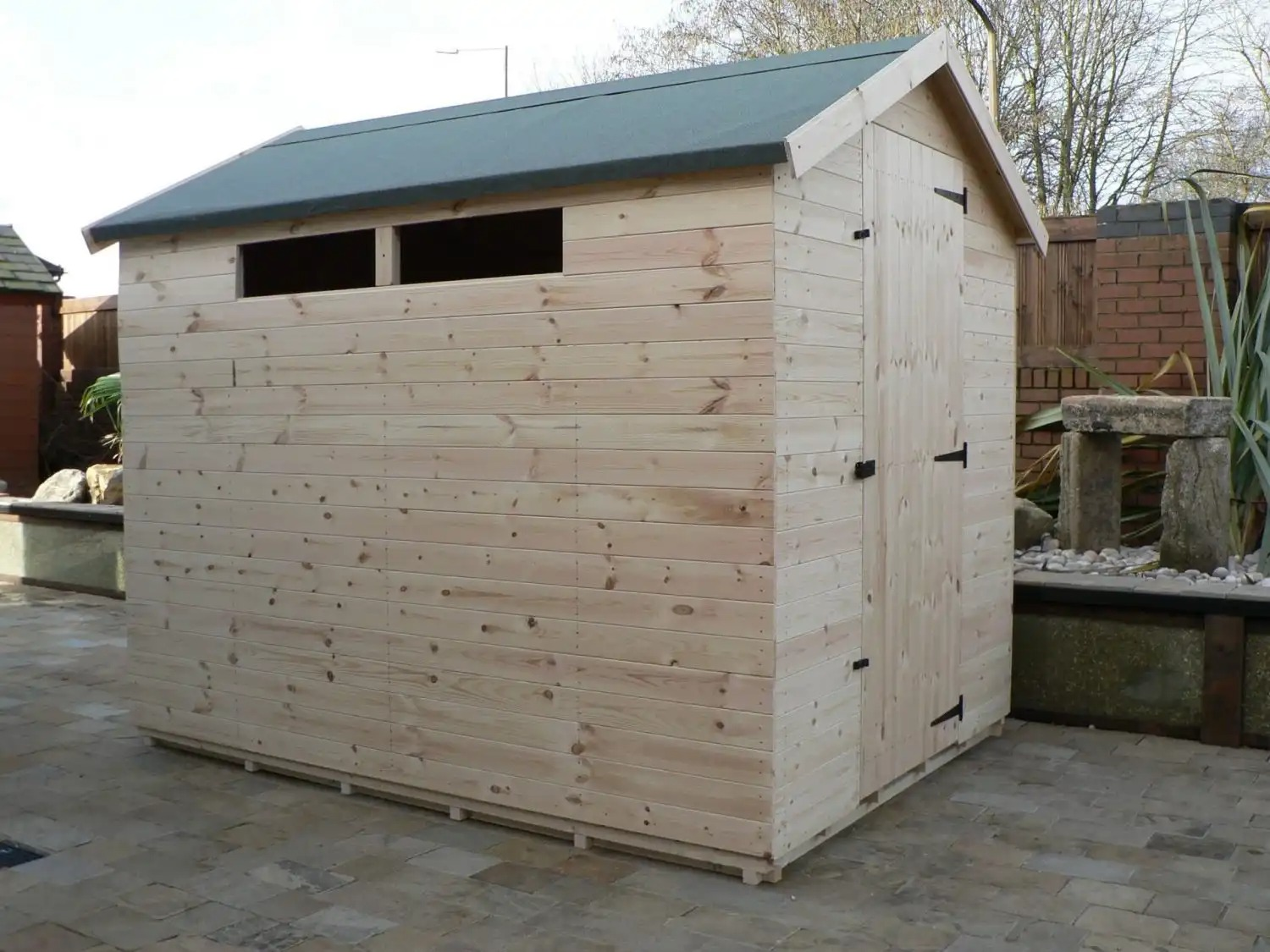 8' X 6' Apex Shed Security Windows