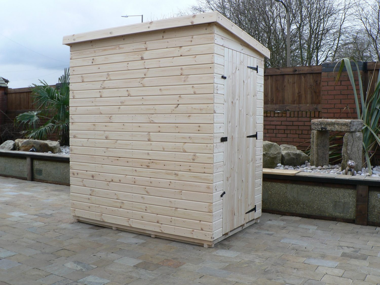 6' X 4' Pent Shed No Windows